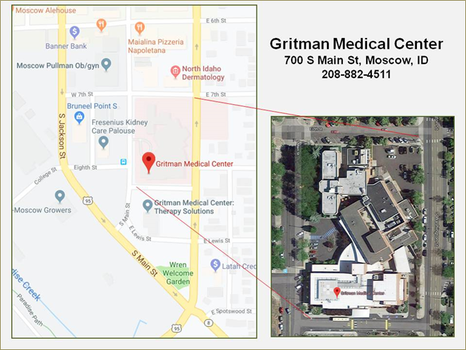 Gritman Medical Center Info